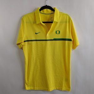NEW NIKE Oregon Ducks Polo Shirt M